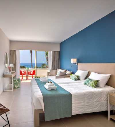 Junior Suite at Leonardo Laura Beach & Splash Resort with sea view